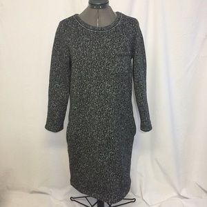 Gap Herringbone Tunic/Dress Long Sleeve Sz M